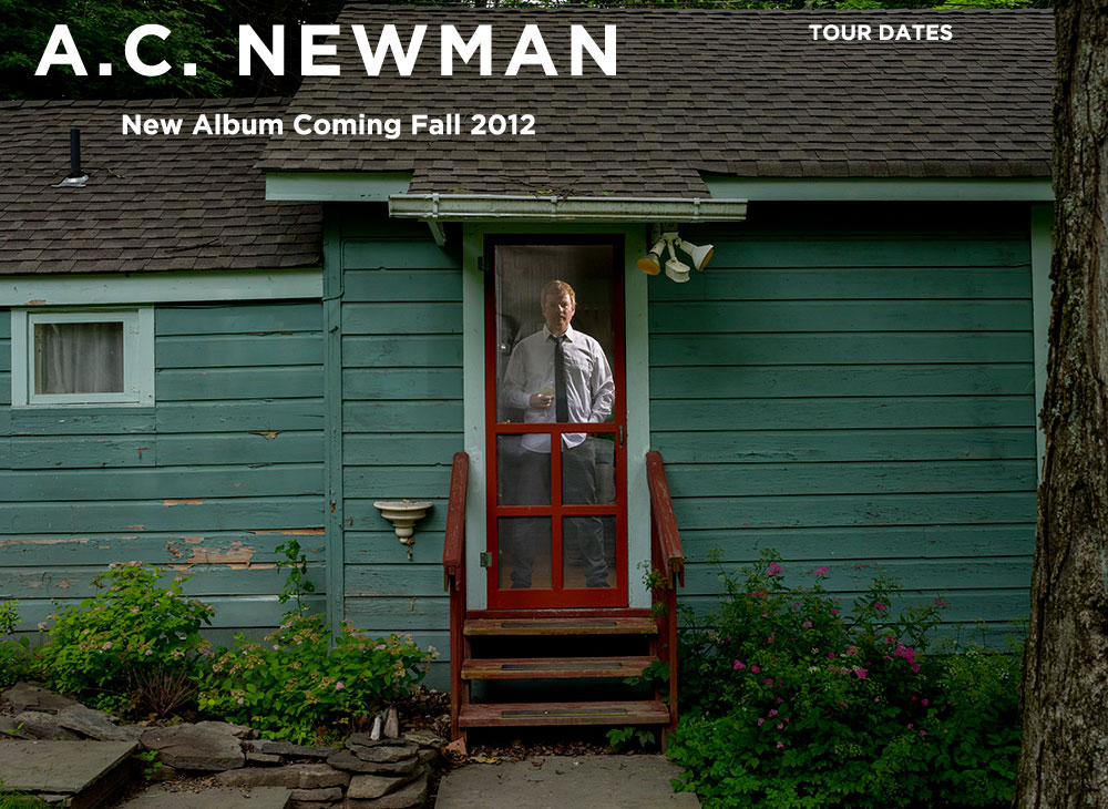 AC Newman Tour Dates 2012 Announced